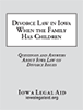 Divorce Law with Children booklet cover