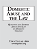 Domestic Abuse and the Law booklet cover