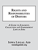 Rights and Responsibilities of Debtors booklet cover