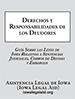 Spanish Debtors Rights and Responsibilities booklet cover