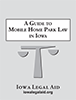 Mobile Home Park Law booklet cover