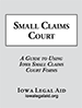 Small Claims Court booklet cover